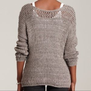 Vince Gray Loose Knit Sweater Layer